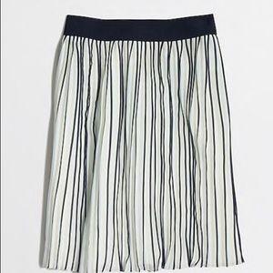 J Crew Pleated Skirt! NWOT